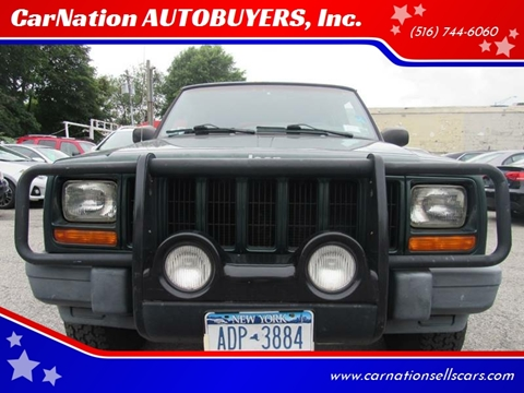 2001 Jeep Cherokee for sale at CarNation AUTOBUYERS, Inc. in Rockville Centre NY