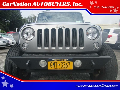 2008 Jeep Wrangler for sale at CarNation AUTOBUYERS, Inc. in Rockville Centre NY