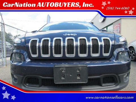 2014 Jeep Cherokee for sale at CarNation AUTOBUYERS, Inc. in Rockville Centre NY
