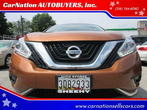 2017 Nissan Murano for sale at CarNation AUTOBUYERS, Inc. in Rockville Centre NY