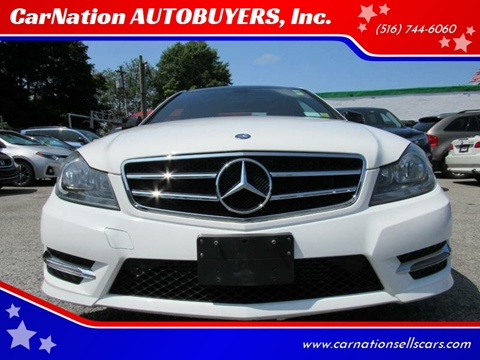 2013 Mercedes-Benz C-Class for sale at CarNation AUTOBUYERS, Inc. in Rockville Centre NY