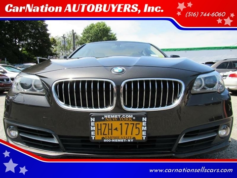 2015 BMW 5 Series for sale at CarNation AUTOBUYERS, Inc. in Rockville Centre NY