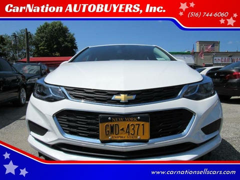 2018 Chevrolet Cruze for sale at CarNation AUTOBUYERS, Inc. in Rockville Centre NY