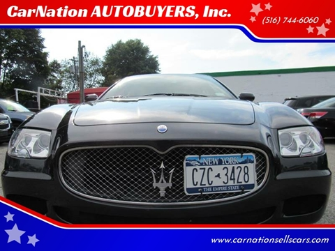 2008 Maserati Quattroporte for sale at CarNation AUTOBUYERS, Inc. in Rockville Centre NY