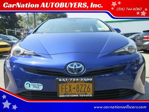 2017 Toyota Prius for sale at CarNation AUTOBUYERS, Inc. in Rockville Centre NY