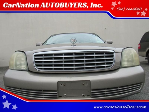 2003 Cadillac DeVille for sale at CarNation AUTOBUYERS, Inc. in Rockville Centre NY