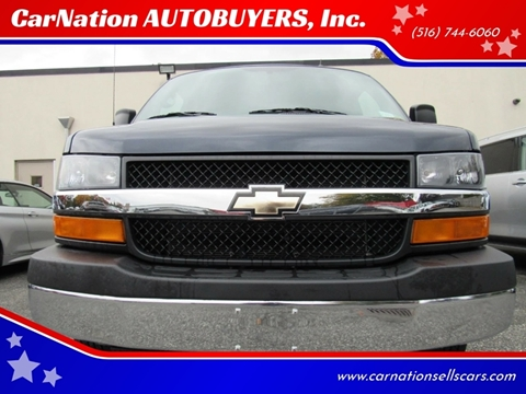 2015 Chevrolet Express Passenger for sale at CarNation AUTOBUYERS, Inc. in Rockville Centre NY