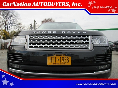 2015 Land Rover Range Rover for sale at CarNation AUTOBUYERS, Inc. in Rockville Centre NY