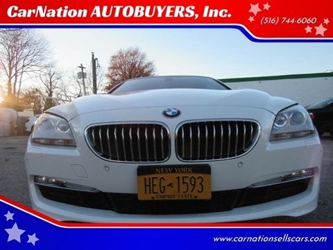 2012 BMW 6 Series for sale at CarNation AUTOBUYERS, Inc. in Rockville Centre NY