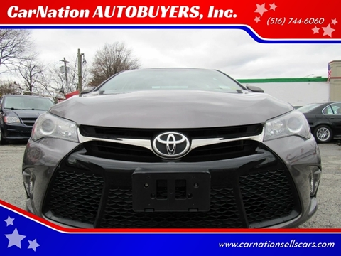 2015 Toyota Camry for sale at CarNation AUTOBUYERS, Inc. in Rockville Centre NY