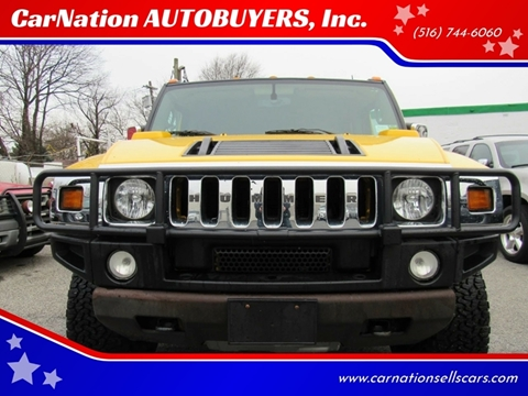 2003 HUMMER H2 for sale at CarNation AUTOBUYERS, Inc. in Rockville Centre NY