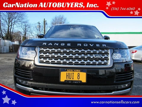2013 Land Rover Range Rover for sale at CarNation AUTOBUYERS, Inc. in Rockville Centre NY