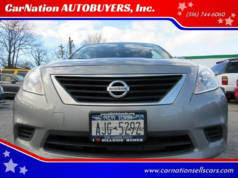 2012 Nissan Versa for sale at CarNation AUTOBUYERS, Inc. in Rockville Centre NY