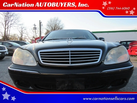 2000 Mercedes-Benz S-Class for sale at CarNation AUTOBUYERS, Inc. in Rockville Centre NY