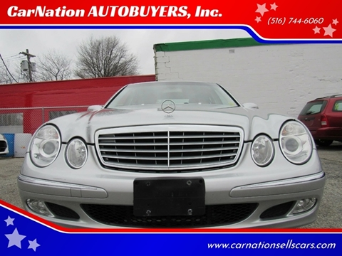 2005 Mercedes-Benz E-Class for sale at CarNation AUTOBUYERS, Inc. in Rockville Centre NY
