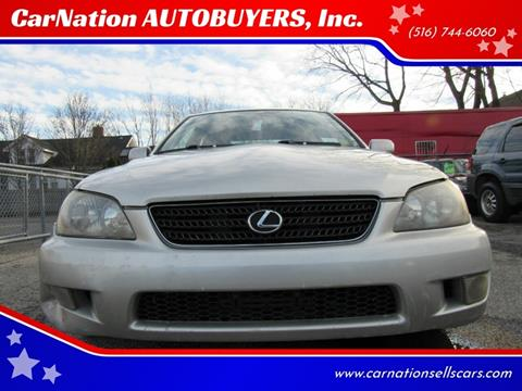 2004 Lexus IS 300 for sale at CarNation AUTOBUYERS, Inc. in Rockville Centre NY