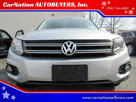 2013 Volkswagen Tiguan for sale at CarNation AUTOBUYERS, Inc. in Rockville Centre NY