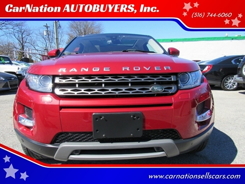 2015 Land Rover Range Rover Evoque Coupe for sale at CarNation AUTOBUYERS, Inc. in Rockville Centre NY