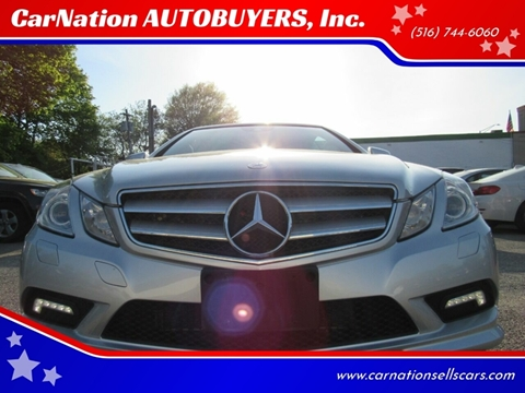 2011 Mercedes-Benz E-Class for sale at CarNation AUTOBUYERS, Inc. in Rockville Centre NY