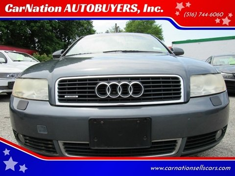 2003 Audi A4 for sale at CarNation AUTOBUYERS, Inc. in Rockville Centre NY