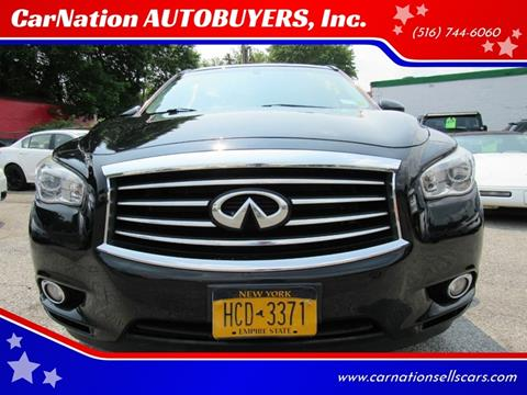 2015 Infiniti QX60 for sale at CarNation AUTOBUYERS, Inc. in Rockville Centre NY