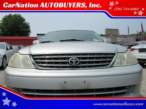 2003 Toyota Avalon for sale at CarNation AUTOBUYERS, Inc. in Rockville Centre NY