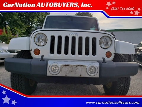 2012 Jeep Wrangler Unlimited for sale in Rockville Centre, NY