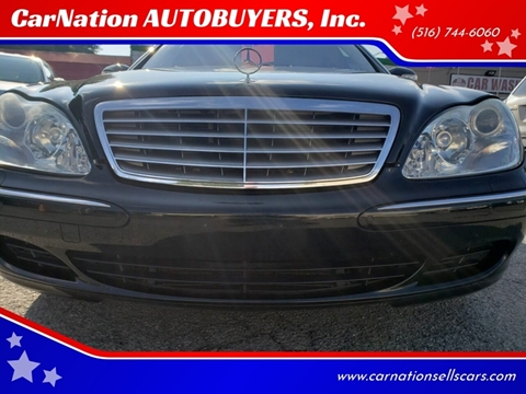 2005 Mercedes-Benz S-Class for sale at CarNation AUTOBUYERS, Inc. in Rockville Centre NY