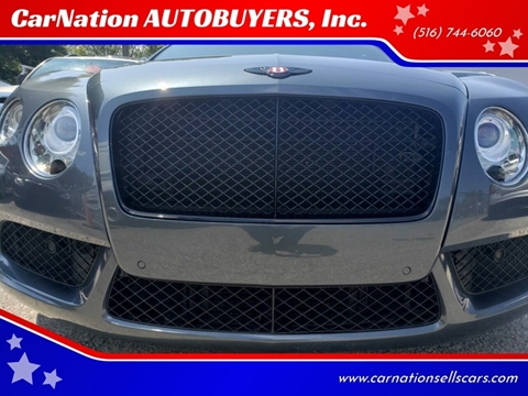 2013 Bentley Continental for sale at CarNation AUTOBUYERS, Inc. in Rockville Centre NY