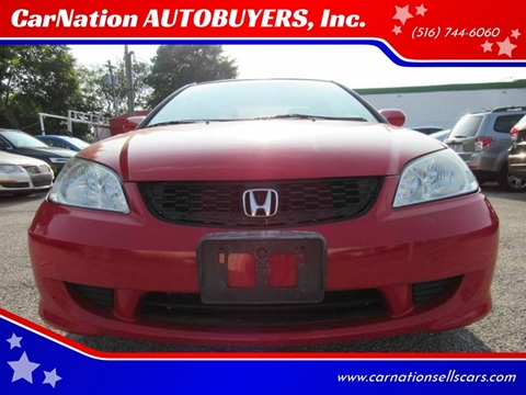 2005 Honda Civic for sale at CarNation AUTOBUYERS, Inc. in Rockville Centre NY
