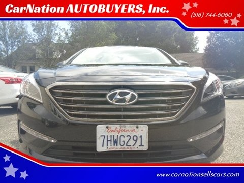 2015 Hyundai Sonata for sale at CarNation AUTOBUYERS, Inc. in Rockville Centre NY
