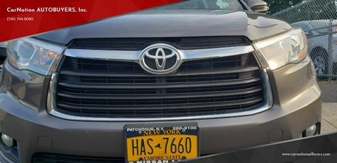 2015 Toyota Highlander for sale at CarNation AUTOBUYERS, Inc. in Rockville Centre NY