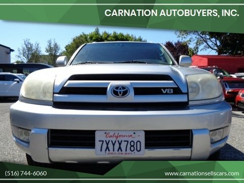 2003 Toyota 4Runner for sale at CarNation AUTOBUYERS, Inc. in Rockville Centre NY