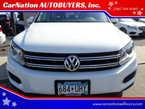 2016 Volkswagen Tiguan for sale at CarNation AUTOBUYERS, Inc. in Rockville Centre NY