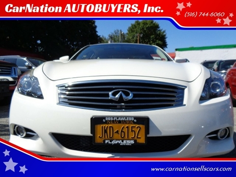 2015 Infiniti Q60 Coupe for sale at CarNation AUTOBUYERS, Inc. in Rockville Centre NY