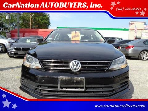 2016 Volkswagen Jetta for sale at CarNation AUTOBUYERS, Inc. in Rockville Centre NY