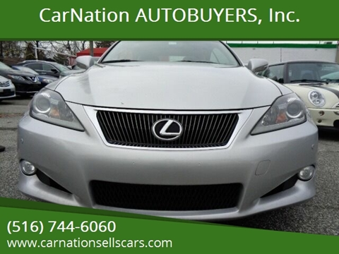 2012 Lexus IS 250C for sale at CarNation AUTOBUYERS, Inc. in Rockville Centre NY