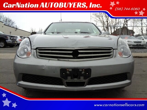 2005 Infiniti G35 for sale at CarNation AUTOBUYERS, Inc. in Rockville Centre NY