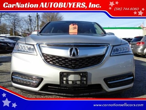 2015 Acura MDX for sale at CarNation AUTOBUYERS, Inc. in Rockville Centre NY