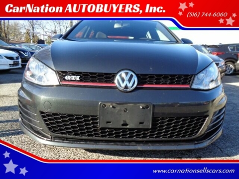 2016 Volkswagen Golf GTI for sale at CarNation AUTOBUYERS, Inc. in Rockville Centre NY