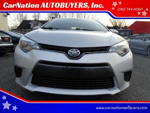 2015 Toyota Corolla for sale at CarNation AUTOBUYERS, Inc. in Rockville Centre NY