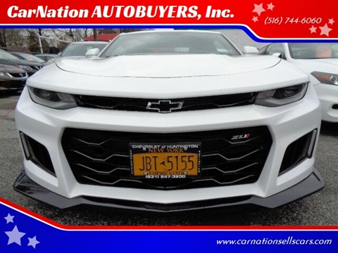 2018 Chevrolet Camaro for sale at CarNation AUTOBUYERS, Inc. in Rockville Centre NY
