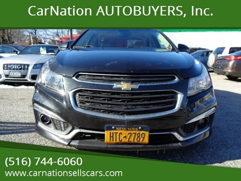 2015 Chevrolet Cruze for sale at CarNation AUTOBUYERS, Inc. in Rockville Centre NY
