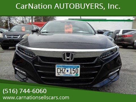 2019 Honda Accord Hybrid for sale at CarNation AUTOBUYERS, Inc. in Rockville Centre NY