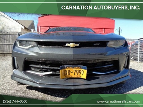 2017 Chevrolet Camaro for sale at CarNation AUTOBUYERS, Inc. in Rockville Centre NY