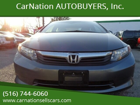 2012 Honda Civic for sale at CarNation AUTOBUYERS, Inc. in Rockville Centre NY