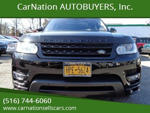 2017 Land Rover Range Rover Sport for sale at CarNation AUTOBUYERS, Inc. in Rockville Centre NY
