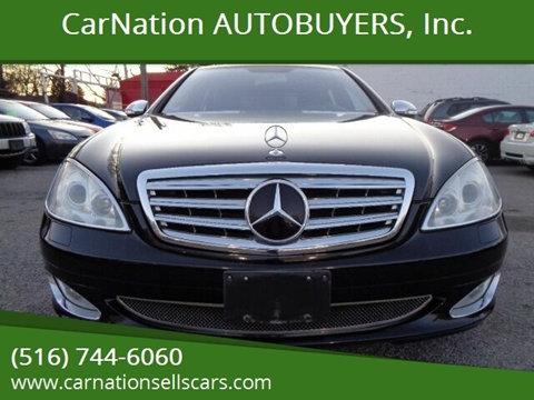 2007 Mercedes-Benz S-Class for sale at CarNation AUTOBUYERS, Inc. in Rockville Centre NY