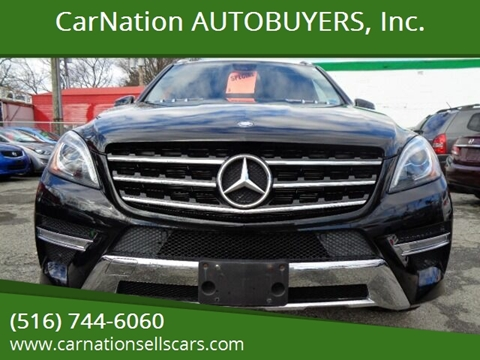 2015 Mercedes-Benz M-Class for sale at CarNation AUTOBUYERS, Inc. in Rockville Centre NY