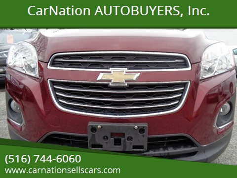 2016 Chevrolet Trax for sale at CarNation AUTOBUYERS, Inc. in Rockville Centre NY